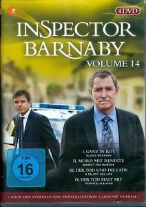 DVD-Box (4 DVDs) - Inspector Barnaby Volume 14 - FSK 16