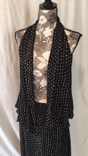 Carlisle Women's Two Piece Sleeveless Kimono and S