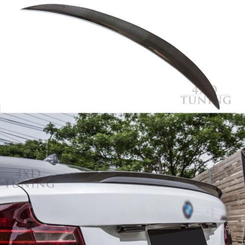 For BMW 2 Ser F22 F23 228i 220 F87 M2 P Style Carbon Car Rear Spoiler Boot 2014+