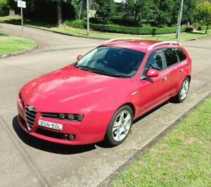 2008 ALFA ROMEO Diesel CAR LICENCE Rego Cheap 159 Sport Wagon rego like Bmw Benz