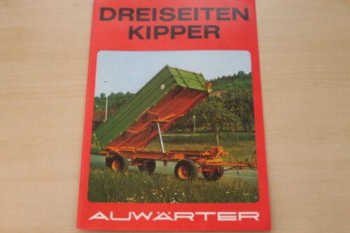 Paul Auwärter 3-Seiten-Kipper Prospekt 197? 162856