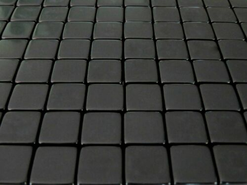 Counting Cubes 16mm 16 mm D6 Square Gaming Casino Lot of 100 Blank Black Dice