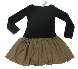 Makadamia-Damen-Kleid-Groesse-38-schwarz-Langarm-NEU