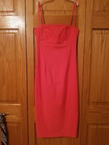 SKY-David-Park-Coral-Pink-Camisole-Cocktail-Dress-Sz-Small-from-Nordstrom