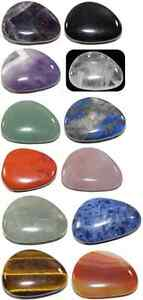 BEAUTIFUL CRYSTAL THUMB STONE ( 40MM ) OFFER BUY ANY 2 GET 1 FREE -