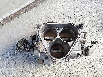 86-88 TURBO Throttle Body TB valve butterfly air intake Mazda rx7 rx-7 fc fc3s