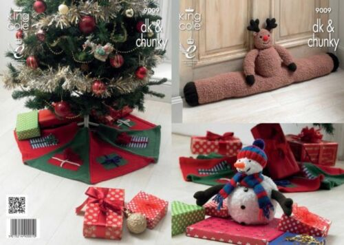 Draft Excluder /& Toy Cu... King Cole Christmas Tree Skirt Free UK P/&P