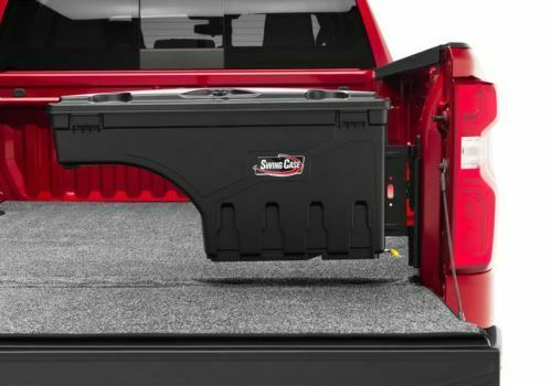 Undercover SC104P Swing Case Storage Box Black Smooth Passenger Side Swing Case Storage Box
