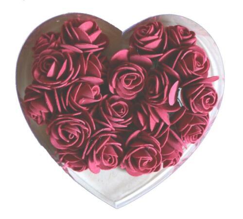 Rosas-Flores en parte con pedrería Floristik para centro de mesa streuteile hobbyfun 38