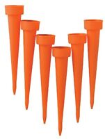 Master Craft Plant Watering Spikes, Set Of 6 , New, Free Shipping