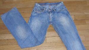 KAPORAL-5-Jeans-pour-Femme-W-26-L-32-Taille-Fr-34-Ref-X013