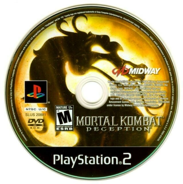 Mortal Kombat: Deception Sony PlayStation 2 PS2 Game Only