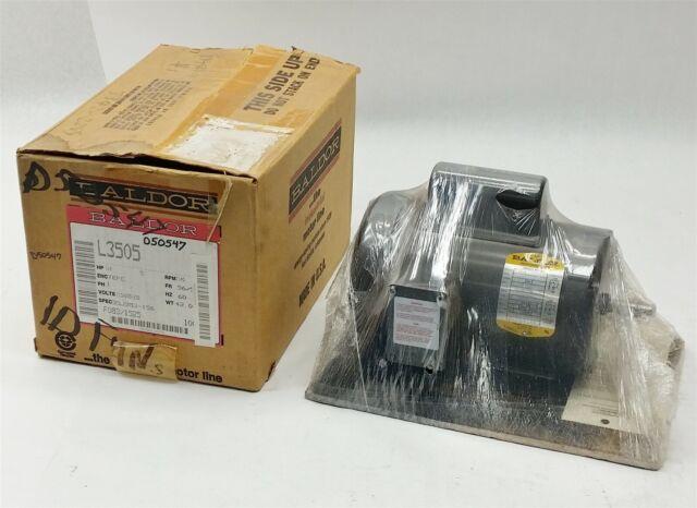 Marathon 403743-001 1140 RPM 60HZ 1//2HP 115//208-230V Electric Motor