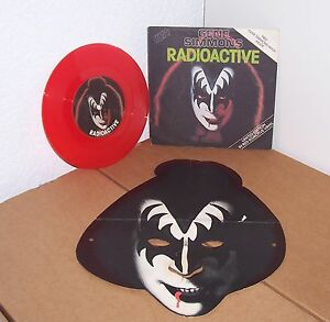 KISS-SINGLE-7-034-GENE-SIMMONS-RADIOACTIVE-UK-VINYL-3rd-PRESS