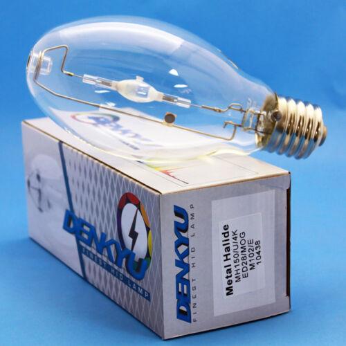 MH150//U//4K//ED28 DENKYU 10438 150W Metal Halide Lamp E39 MOG M102//E Bulb