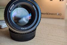 Nikon Nikkor AF 50 mm F/1.4 D AF Objektiv, Top!