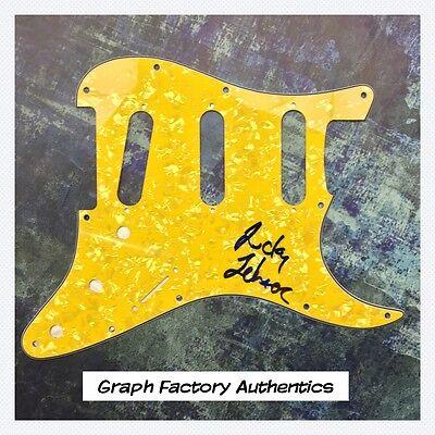 Spirited Gfa Circle Jerks Band Signed Autograph Electric Pickguard Coa Lucky Lehrer