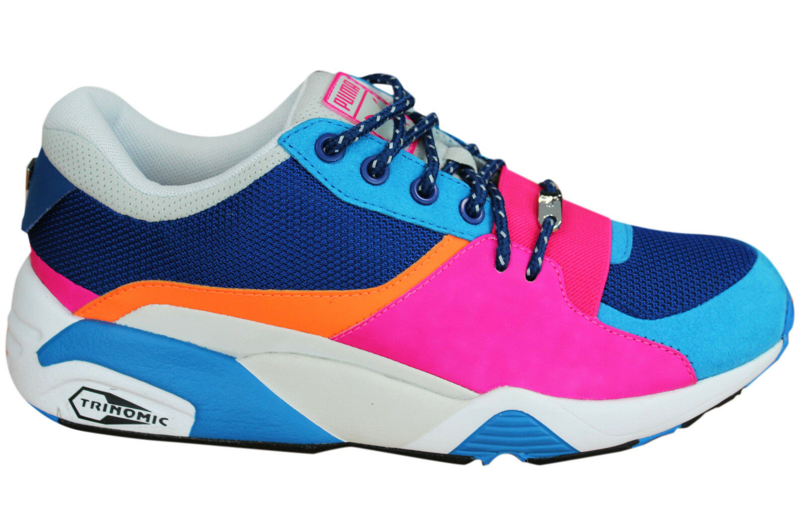 Puma Trinomic R698 Femme Party Trainers Lace Up chaussures Multi 361916 02 U60