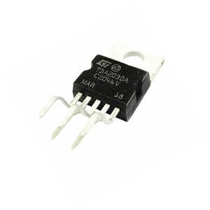 10Pcs TDA2030A TDA2030 TO-220 18W Hi-Fi Amplifier 35W Low Power Driver IC ST UK