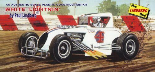 Lindberg White Lightnin Modified Racecar kit