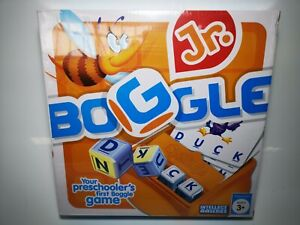 Boggle-Jr-Kids-Childrens-Puzzle-Learning-Board-Game-Ages-3-Preschoolers