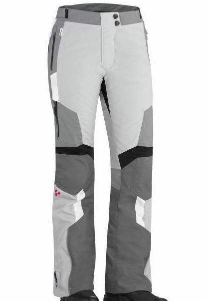 CAN-AM SPYDER LADIES MOTORCYCLE CALIBER PANTS Weiß grau SIZE 16 TROUSERS