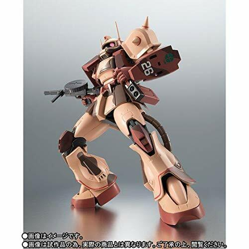 Robot Spirits SIDE MS MS-06D Zaku Desert Type CARACAL CORPS ver. A.N.I.M.E. W T