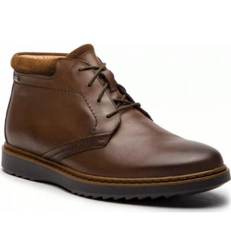 Clarks Men's UN GEO MID GTX Brown Leather Boots UK Size 6.5 H EU 40.