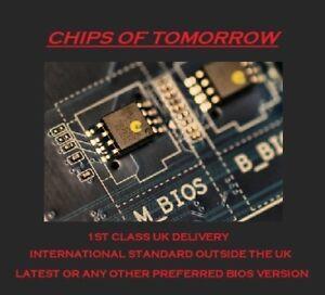 No Password BIOS CHIP for ASUS K43SA K52JT A52JT K54LY N55SF N82JQ U43SD U56E