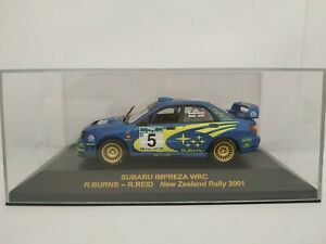 1-43-SUBARU-IMPREZA-WRC-BURNS-2001-N-ZEALAND-IXO-RALLYE-CAR-ESCALA-DIECAST-SCALE
