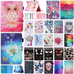For-2017-iPad-2-3-4-Pro-10-5-Mini-PU-Leather-Magnetic-Flip-Card-Stand-Case-Cover