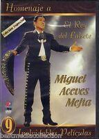 Homenaje A Miguel Aceves Mejia Dvd 9 Peliculas El Rey Del Falsete Brand
