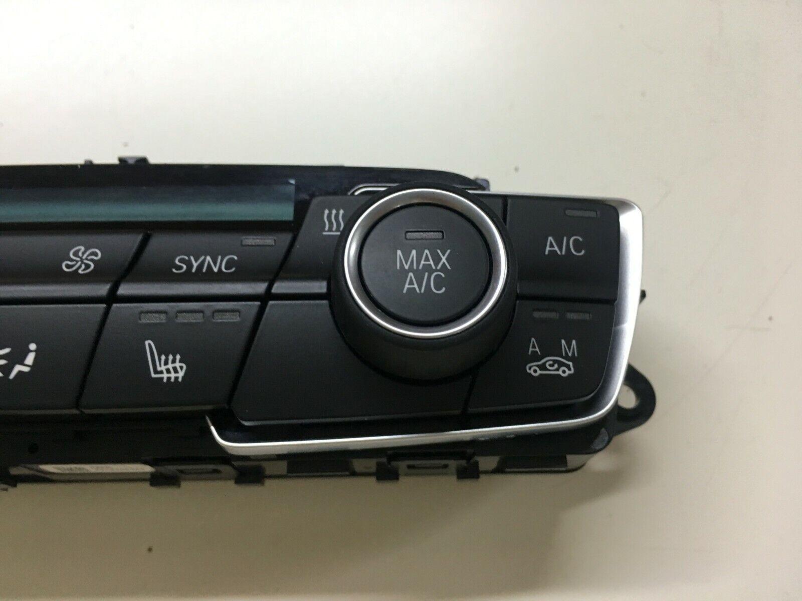 CD audio radio control panel 9371460 BMW X1 F48 Climate control unit