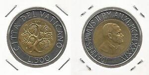VATICANO-Papa-Giovanni-Paolo-II-500-Lire-1989-FDC