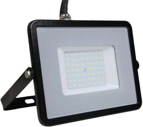 Black 6400K 50W LED Floodlight V-TAC