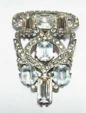 VINTAGE EISENBERG ORIGINAL RHINESTONE FUR / DRESS CLIP