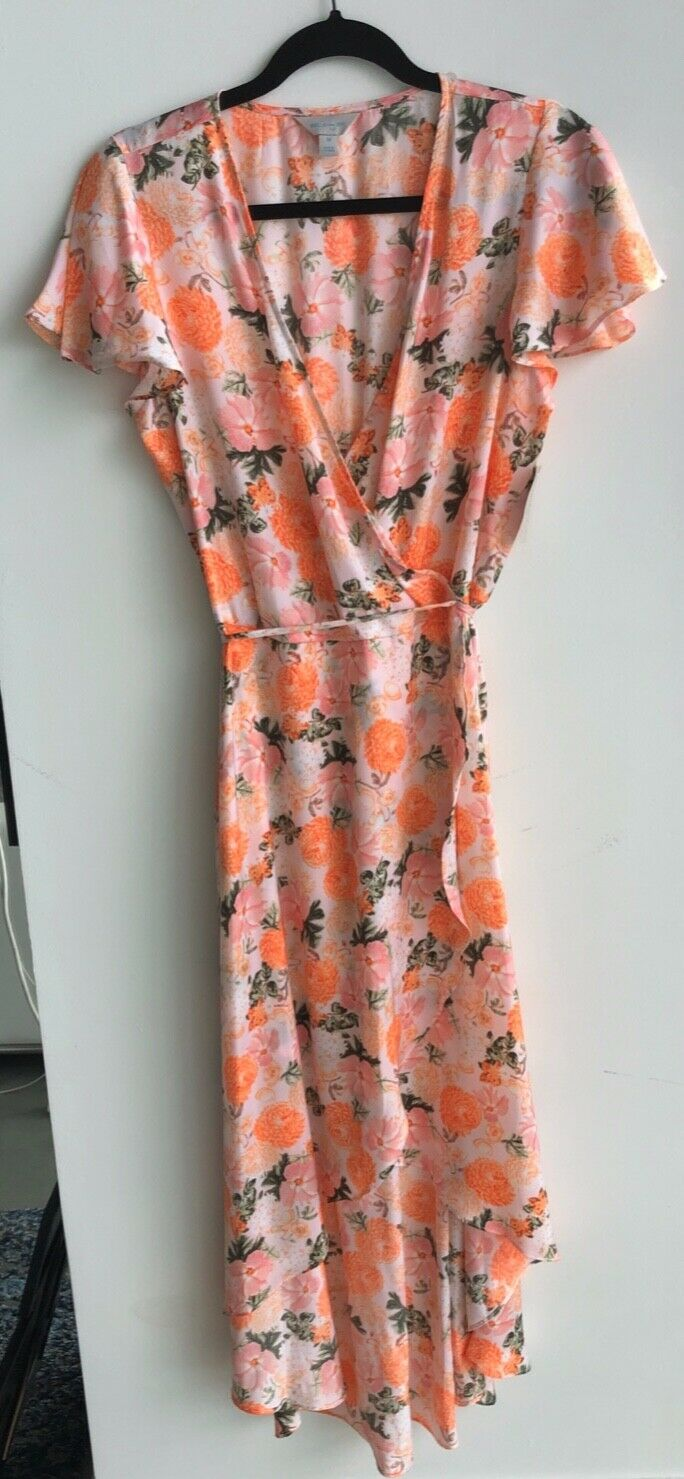 Belle Sky floral casual dress
