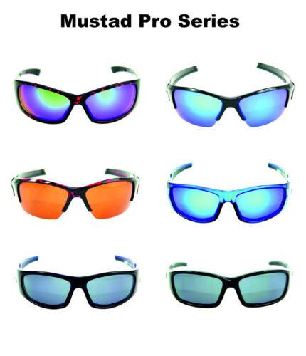 6 Modelle Mustad Polarisationsbrille der Pro Series 100/% UV-Schutz Angelbrille