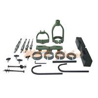 Mortising Attachment Kit Drill Press 4 Bits Tenon Joint