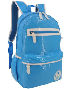 Everyday Deal 29881 Synthetic Laptop Backpack Travel School Bag  (blue)