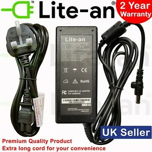 mains cable samsung rf511 laptop charger ebay