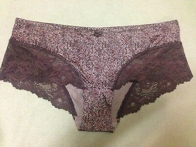 M/&S Lingerie Size 10 14  Smoothlines No VPL Low Rise Shorts Knickers Bnwt Almond