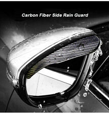 Mirror Rain Visor Smoke Guard For Mitsubishi Side Mirrors Exterior Accessories 2 Fits 1999 Mitsubishi Mirage