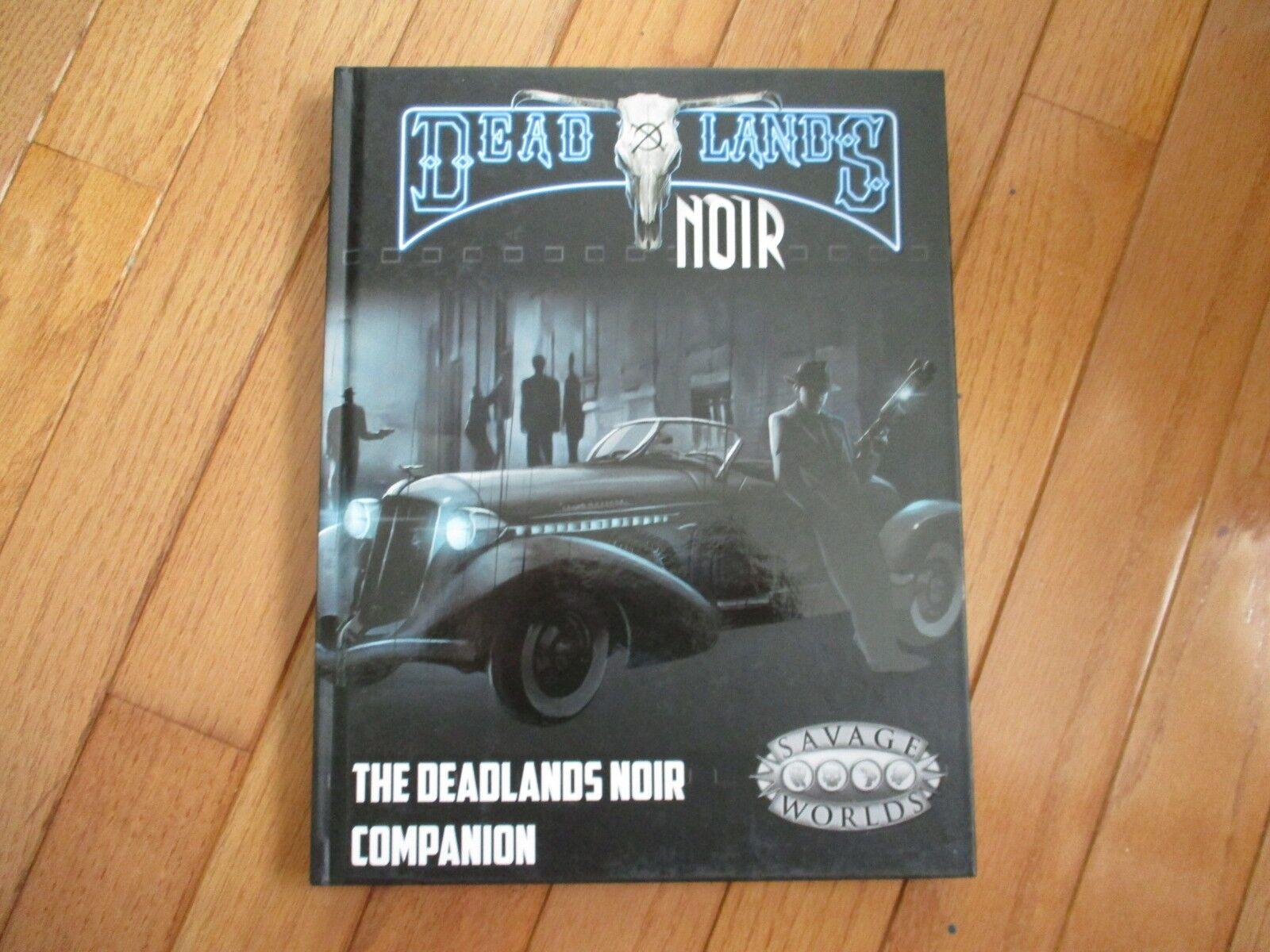 Deadlands black Savage Worlds RPG Companion