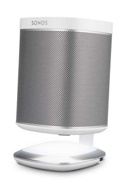 Flexson FLXP1DSL1011 leuchtender DeskStand für Sonos Play:1 Weiß dimmbar Touch
