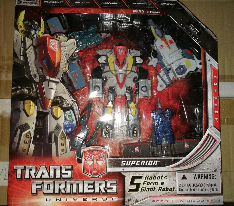Hasbro Transformers Universe Classics Superion Combiner MISB