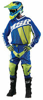 Msr Axxis Blue/white/green Jersey & Pant Combo Set Motocross M17 Off Road Gear
