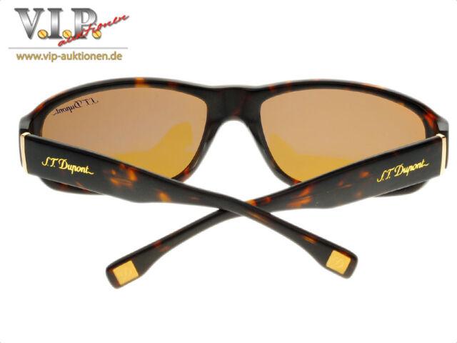 S.t.dupont Eyewear Glasses Sunglasses Occhiali Bezel de Soleil, New