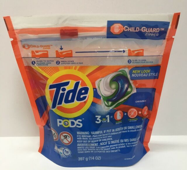 6be81fb0254 Tide Pods Original Scent 3 in 1 Laundry Detergent Pacs 16 Count New Sealed