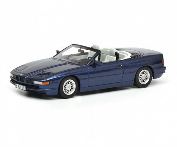 SCHUCO BMW 850i Cabriolet bleu 1 43 450902500